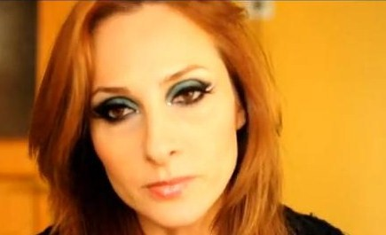 Y�lba�� Parti Davet Makyaj� (new year christmas party 2013 make up) .